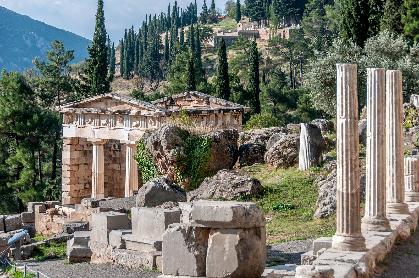 Archaeological Site of Delphi - UNESCO World Heritage Site