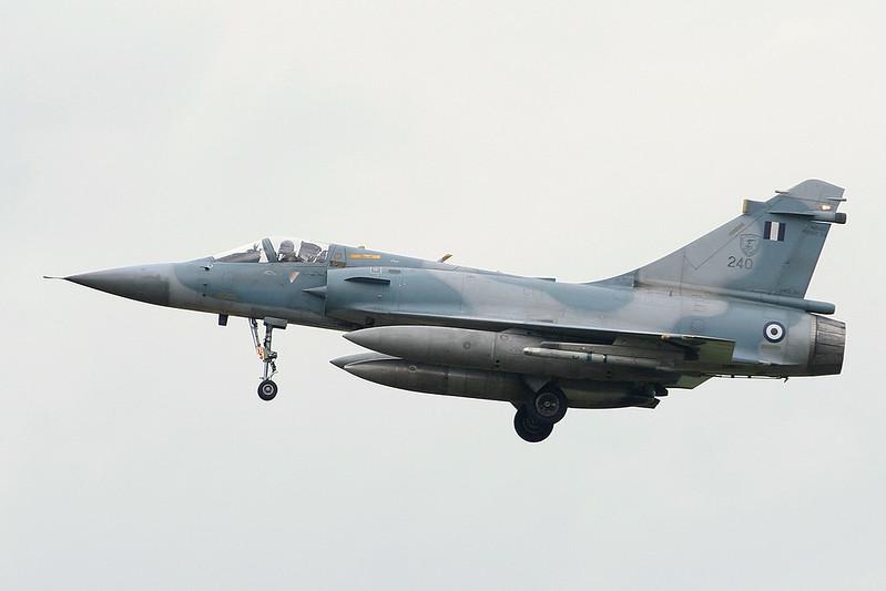 """240 Dassault Mirage 2000 5EG """"Greek Air Force"""" c/n 288 Florennes/EBFS 17-01-07"""