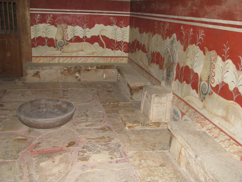 """Knossos """"throne room"""""""