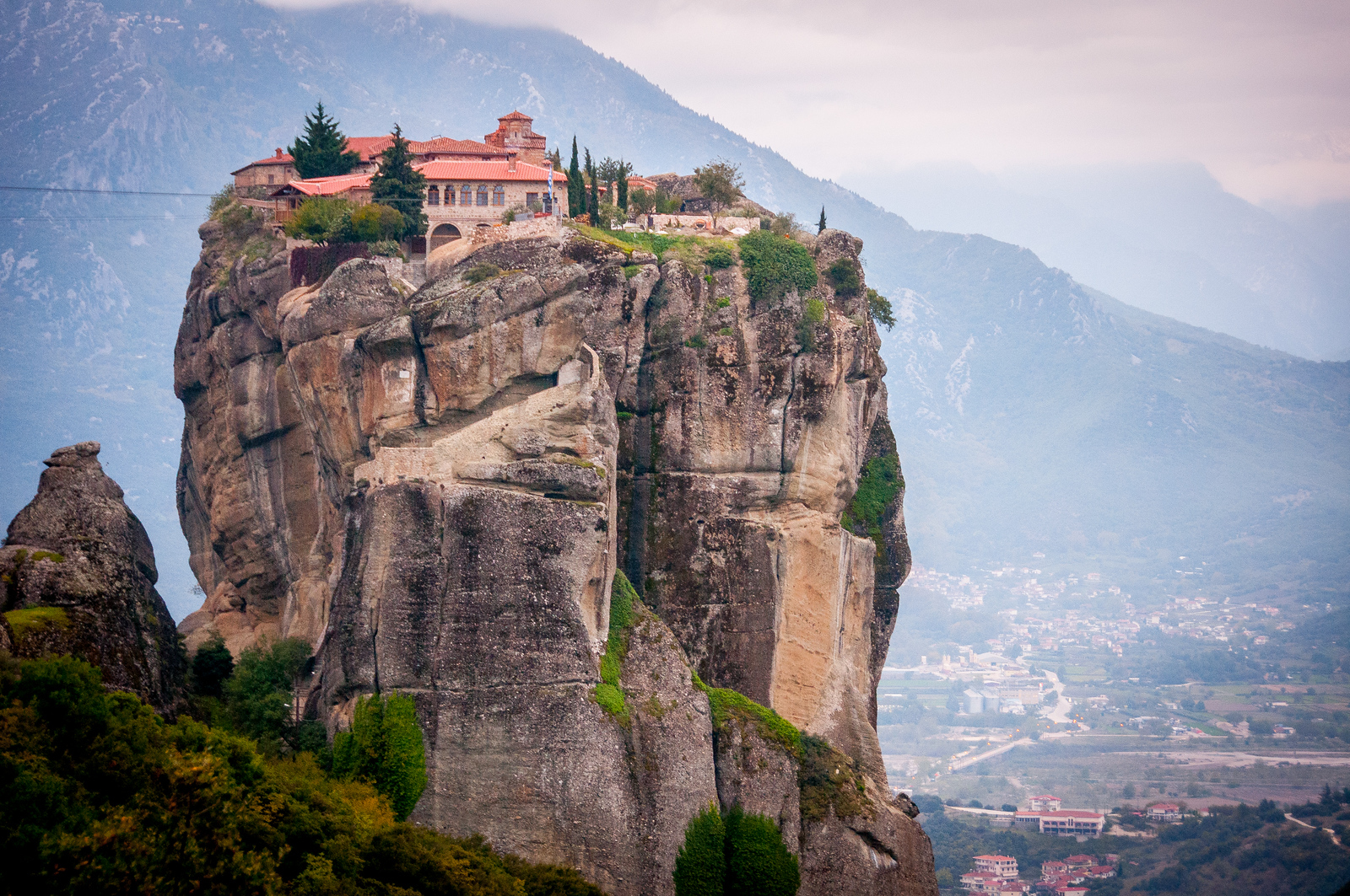 Monasteries of Meteora, a UNESCO World Heritage Site in Greece