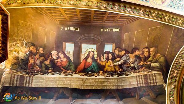 Fresco, Saint George Cathedral, Nafplio