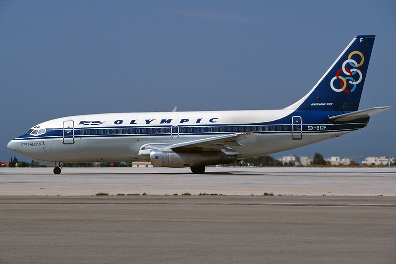 SX-BCF Boeing 737-284 c/n 22301 Athens-Hellenikon/LGAT/ATH 19-09-00 (35mm slide)