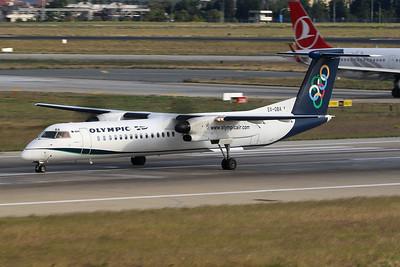 "SX-OBA de Havilland Canada DHC-8-Q402 ""Olympic Air"" c/n 4267 Istanbul - Ataturk/LTBA/IST 09-10-18"