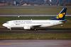 """SX-BBT Boeing 737-33A """"Cronus Airlines"""" c/n 25011 Dusseldorf/EDDL/DUS 21-08-99 (35mm slide)"""
