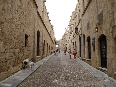Ippoton, Rhodes Old Town - Greece