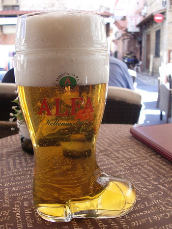 beer in rhodes greece