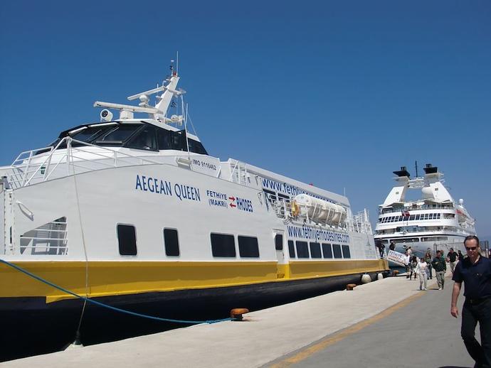 rhodes fethiye ferry
