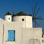 Santorini Windmills – Io, Greece – Daily Photo