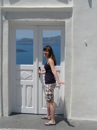 Another Door to Nowhere - Santorini, Greece