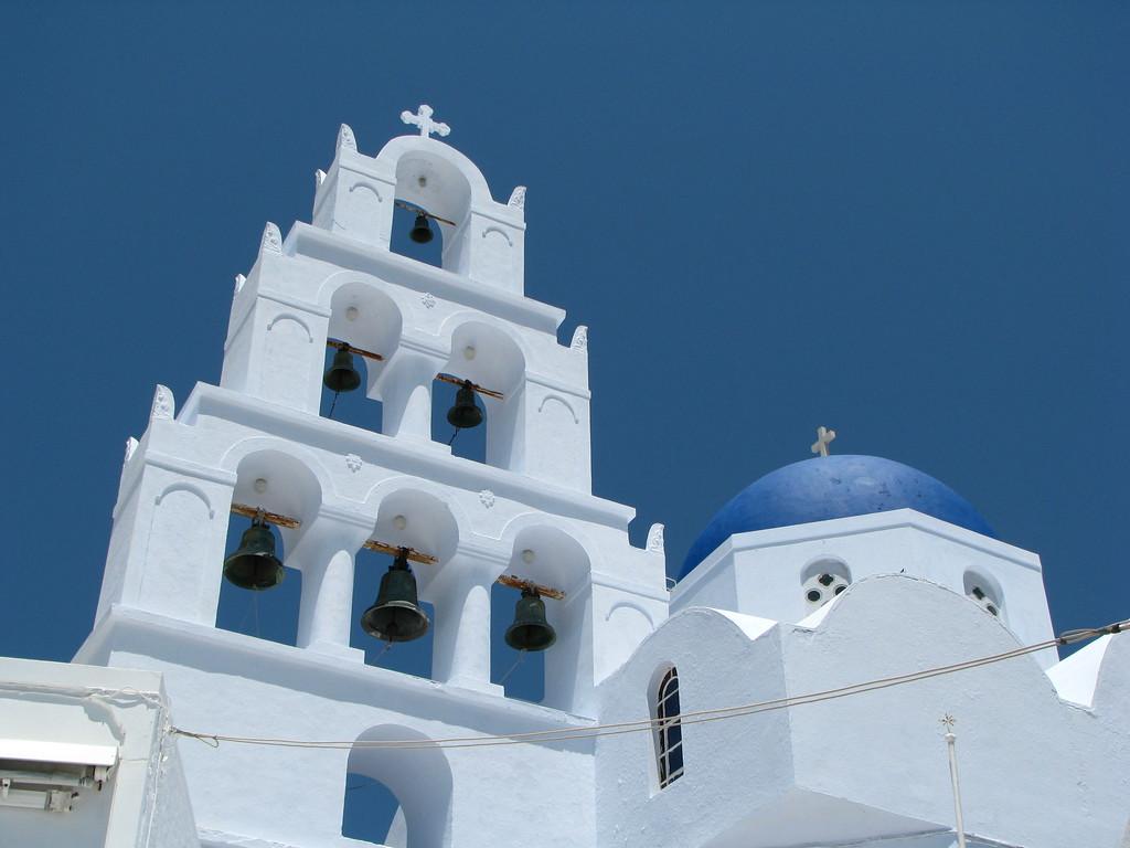 Greek Church - Santorini, Greece - Photo