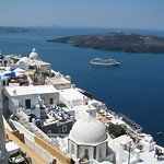 View and Volcano – Santorini, Greece – Daily Photo