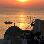 Santorini Sunset – Santorini, Greece – Daily Photo