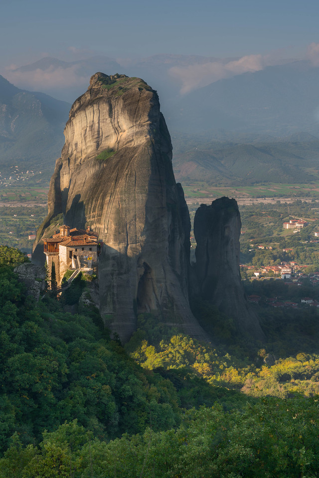 The views never end in Meteora, Greece