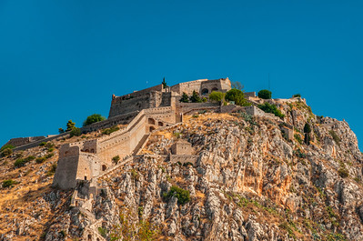 Nafplio, Greece, Fortress of Palamidi