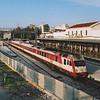 OSE AEG built class 650, 520 258 at Atheina (Athens). 5th October 2005.