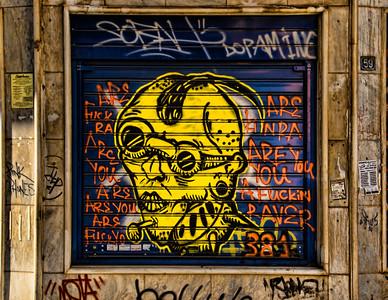 Graffiti, Athens, Greece