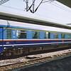 Greek 1st class car 73 73 84-96 001-6 at Thessaloniki.