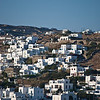 The white-washed houses of Mykonos