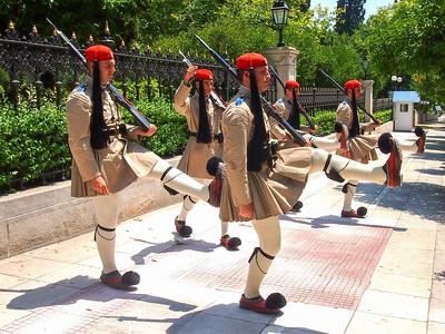 Athens royal guards