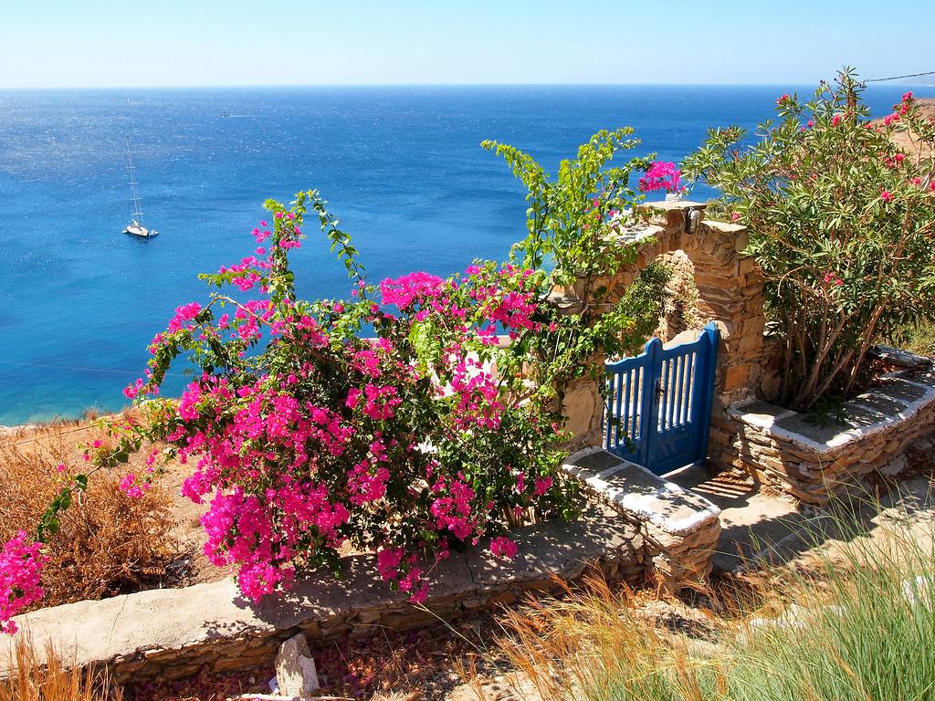 Pretty scene on Ios in the Greek Islands