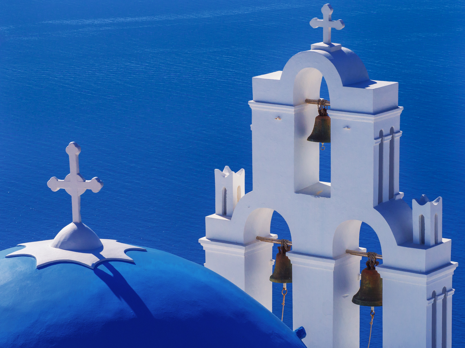 Churches seem to be everywhere in Santorini.