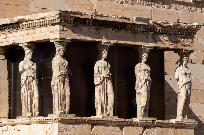 five karyatids