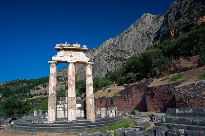 Athena Tholos at Delphi all that remains
