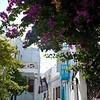 Mykonos' colorful streets