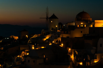 Night Lights, Oia
