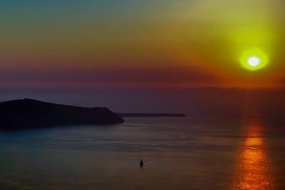Santorini Sunset II