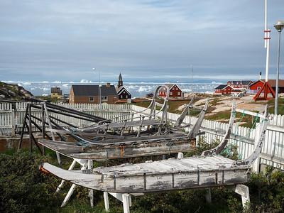 Sledges in Ilulissat