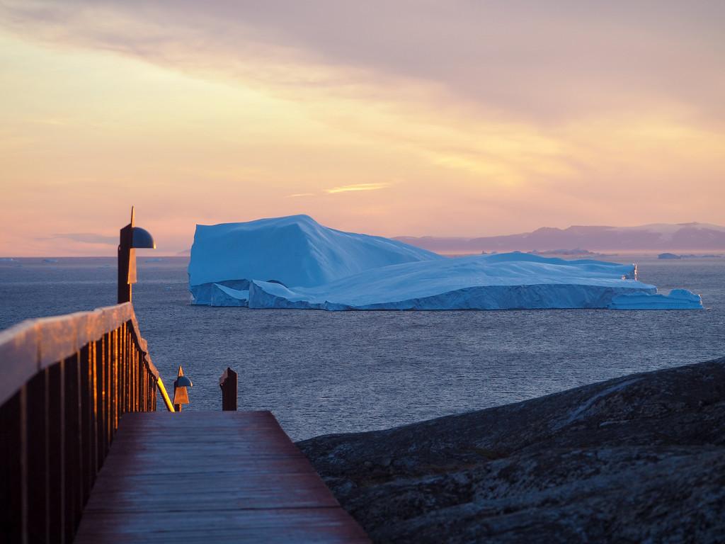 Sunset in Ilulissat