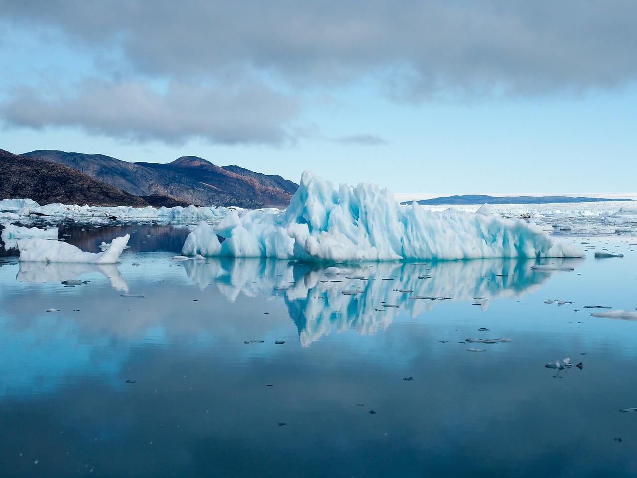 Icebergs near Eqi Glacier