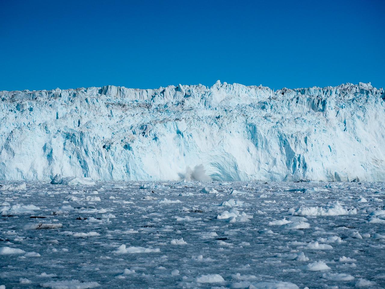 Eqi Glacier calving
