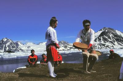 Ile de Kulusuk - Danses traditionnelles