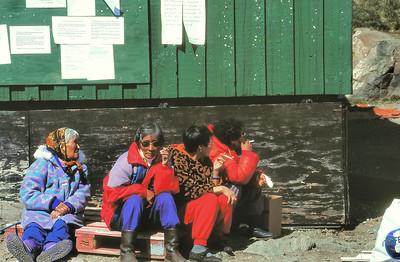 Cap Dan - Fumeuses inuits