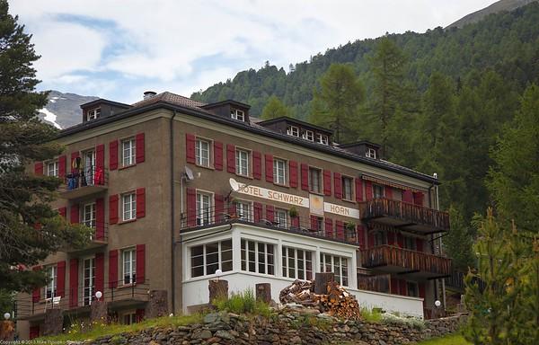 Hotel Schwartzhorn in Gruben