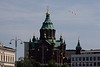 Lutheran Church Cathedral of St. Nicholas in Helsinki Finland - A modern European city