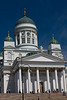 Presidential Palace within the Government Palace in Helsinki Finland - A modern European city