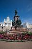 Senate Square in Helsinki Finland - A modern European city
