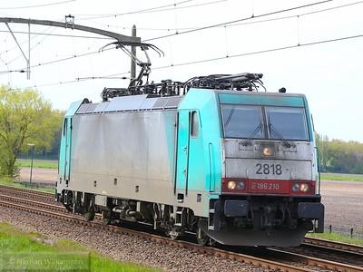 186-210 passes Gilze Rijen light engine  01/05/15