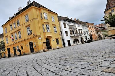 Sopron - Place Fö tér