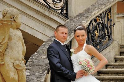 Fertöd - Esterházy Kastély - Photos de mariage au château