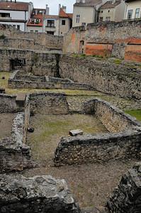 Sopron - Ruines de Scarbantia, la romaine