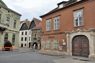 Sopron - Rue Templom