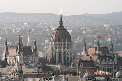 Parliament from the top of St. Stephen's Church