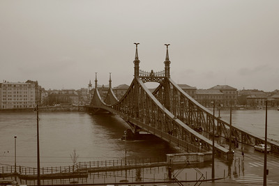 The Freedom Bridge, Budapest