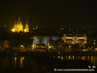 Budapest Skyline at Night - Hungary