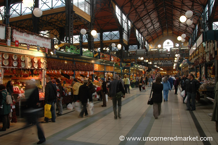 Budapest Central Market - Hungary