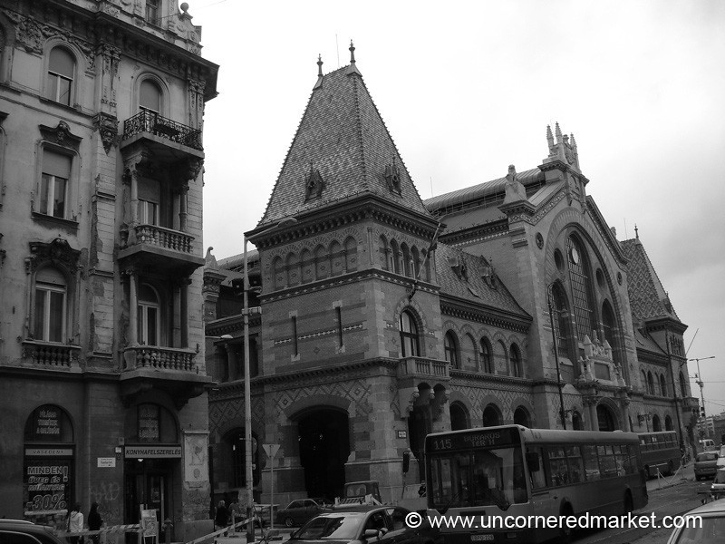 Budapest's Central Market - Budapest, Hungary